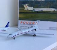 Модель самолета Туполев Ту-154М 1:200 металл Herpa 555111