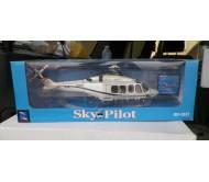 Модель вертолета Agusta AB 139 масштаб 1:48 металлическая